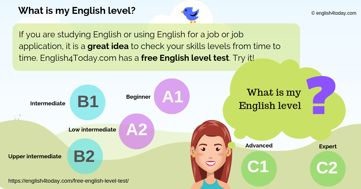Test your English level 1